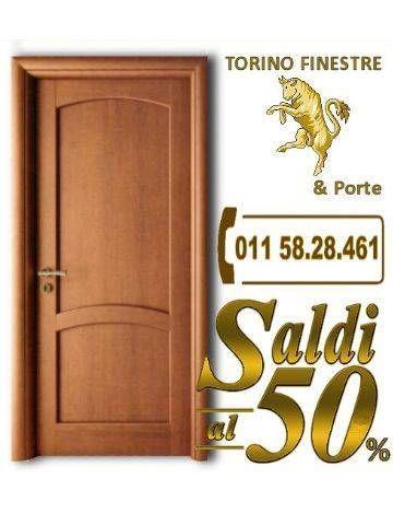Porta Interna in Massello Melissa | Store Torino Finestre | Porte ...