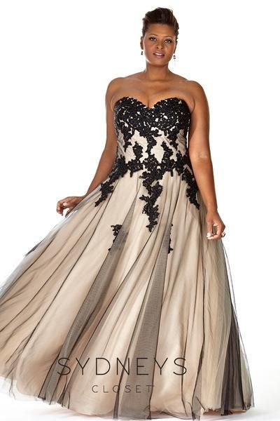 Plus Size Formal Bella Ball Gown Prom Wedding And