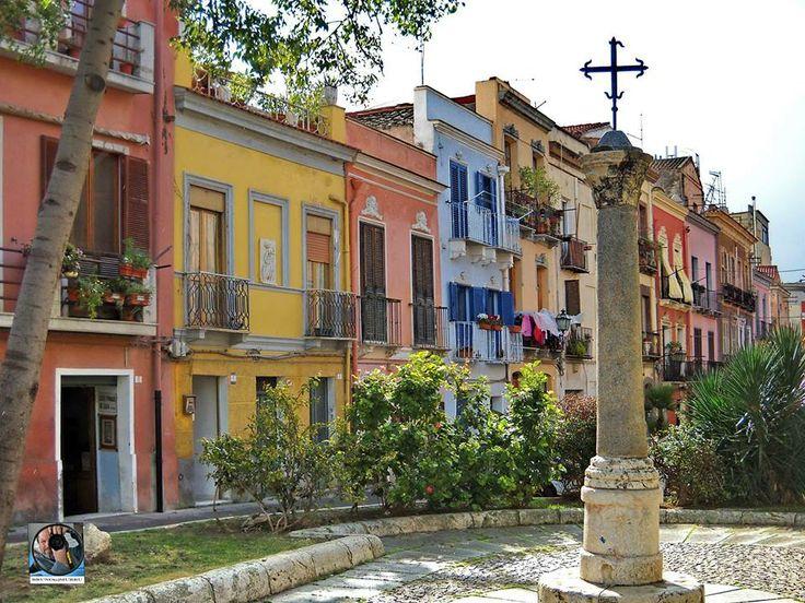 Cagliari.Sardegna.Quartiere Villanova