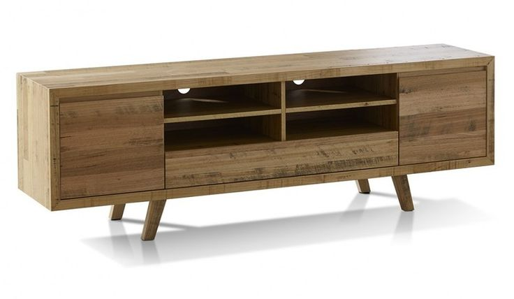 The Alice Lowline TV unit is beautifully crafted in Tasmanian Oak featuring the individual natural character of the timber in a distressed finish.