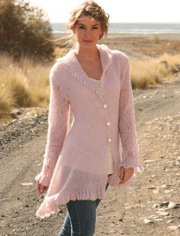 Strik den mest feminine jakke | Femina
