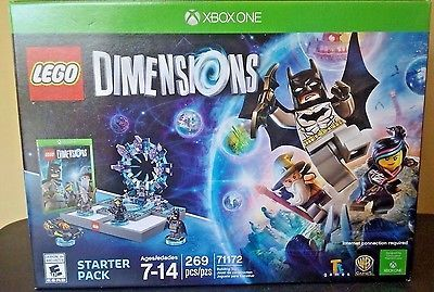 LEGO XBOX ONE Games DC Comics Batman Dark Knight Gandalf Dimensions Starter Pack