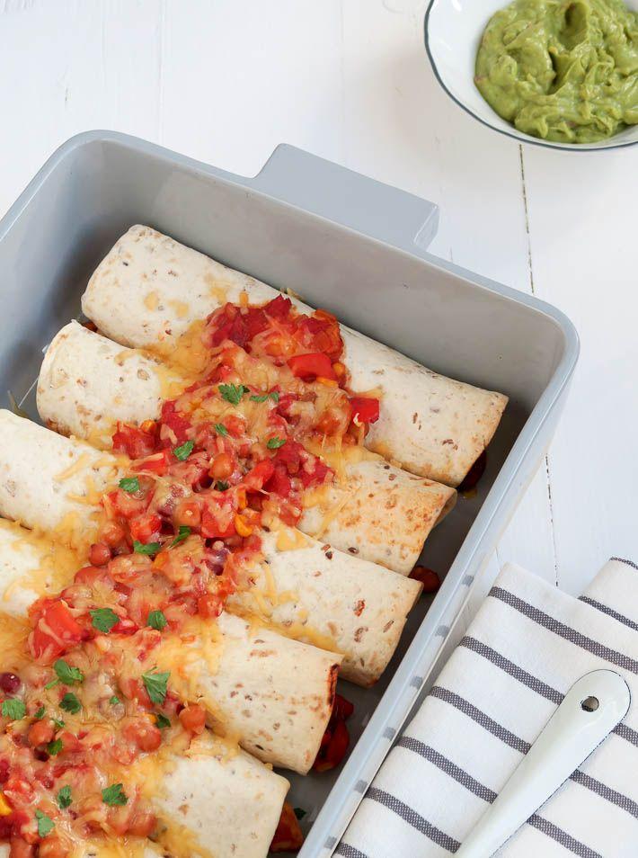 enchilada's met gehakt