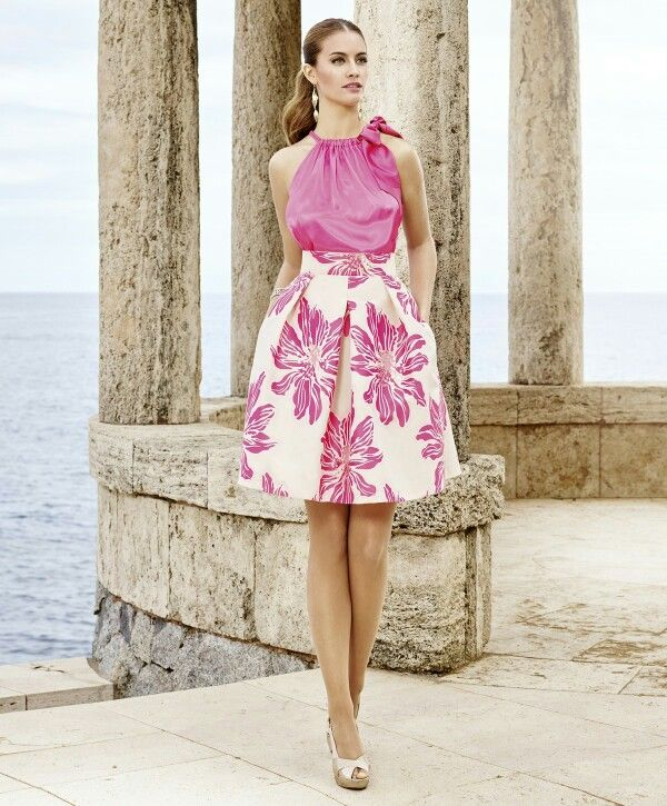 35 best vestidos images on Pinterest | Feminine fashion, Blouse and ...