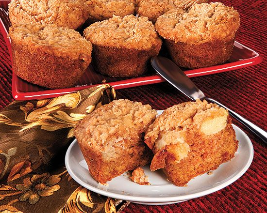 Ginger Apple Muffins - Recipes at Penzeys Spices - made them this morning and everyone enjoyed them.  Just the right balance of apple and ginger.