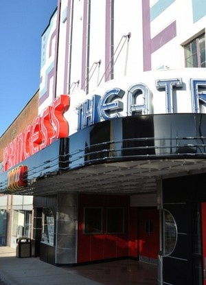 The Historic Princess Theatre Once Crown Jewel Of Downtown Harriman Tn Is
