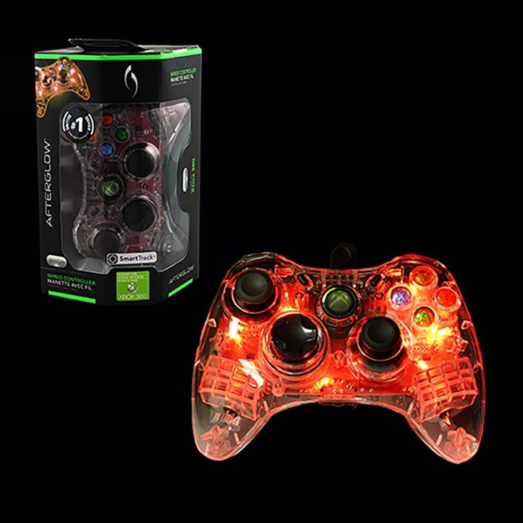 Xbox 360 - Red Wired Controller - Microsoft Afterglow - (PDP) https://www.retrogamingstores.com/gaming-accessories/xbox-360-controller-wired-microsoft-afterglow-red-pdp  This stylish controller will bring you level up to your game.