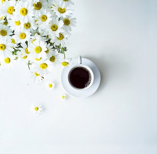 #Coffee #Flowers