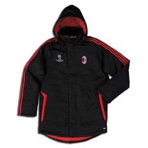 North America Sports The Soccer Shop :: Official Website :: Vancouver, BC ::NORTH AMERICA SPORTS :The Soccer Shop: NEW ADIDAS AC MILAN THERMAL STADIUM JACKETS 2008/09