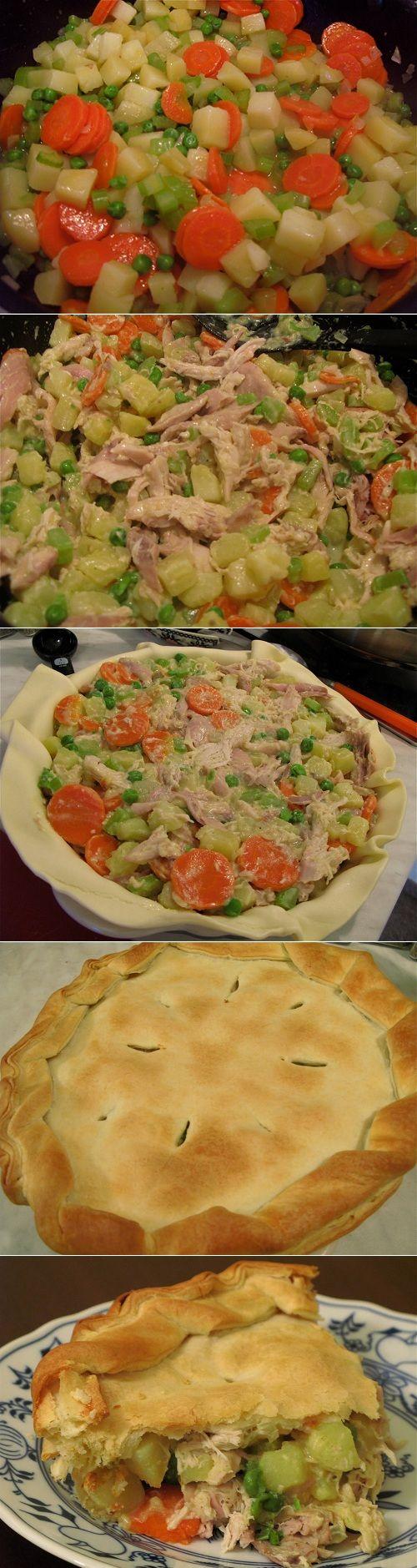 Chicken Pot Pie Ricetta