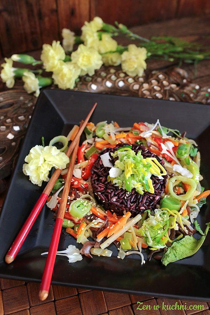 Warzywa po chińsku czyli Smok w kuchni Zen   Zen w kuchni
