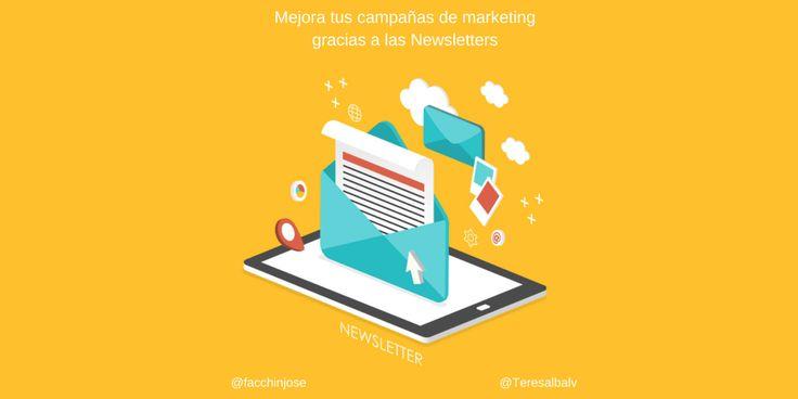 Mejora tu campaña de Email Marketing mediante el uso de Newsletters