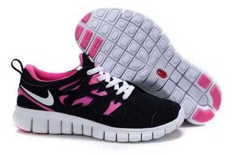 best sneakers 40f64 4a423 ... Femme Noir  Find Nike Free Run 2 Womens Black Pink Shoes For Sale  online or in Footlocker.