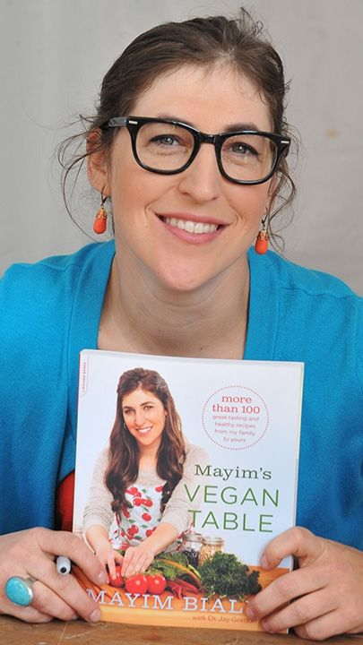 6. She's a devout vegan and even penned her own vegan cookbook.