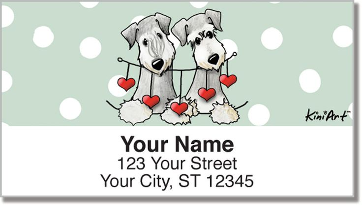 Cesky Terriers address labels & checks now at https://www.checkadvantage.com/cesky-terrier-address-labels #CeskyTerriers #dogs #dogart