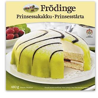 Prinsessakakku  Frödinge Mejeri