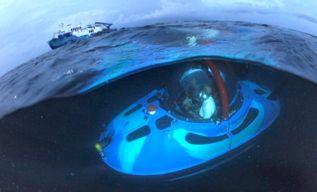 "Explorando el fondo marino en ""limusina"""