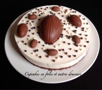 Bavarois poires/chocolat
