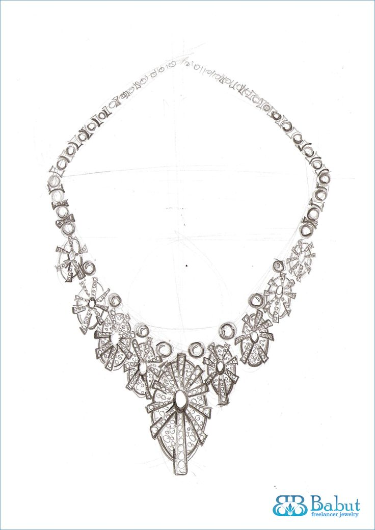 Sketch Necklace | Sketches Design Jewelry | Pinterest | Sketches And Necklaces