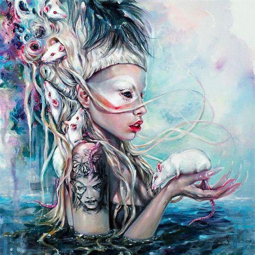 """Yolandi the Rat Mistress"" by Tanya Shatseva"