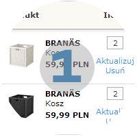 Lista zakupów - IKEA