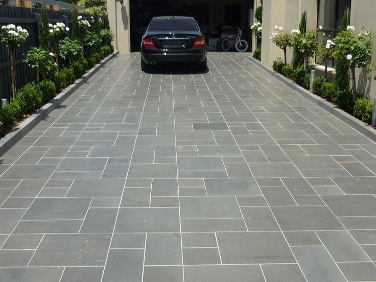 Bluestone pavers google search home pinterest for Blue stone paver patio