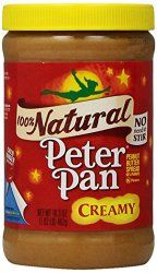 Peter Pan Peanut Butter Nutrition Facts