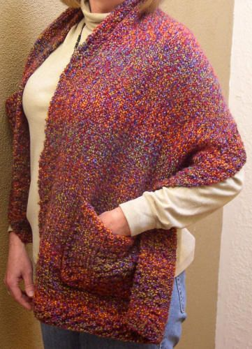Readers Wrap Knitting Pattern : Lion Brand Challenge - Readers Wrap Challenges, Pictures of and Wraps
