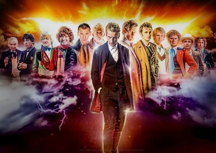 Alll 13 Doctors well all 12 if you watched the show u'll understand