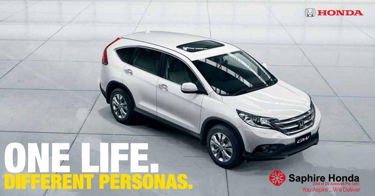 The Honda CR-V. One Life. Different Personas. Book a Test Drive Call: 8088651651 #Honda #HondaCRV #HondaCars