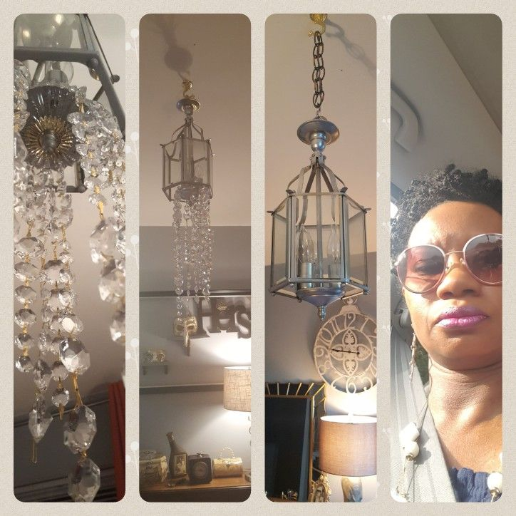 Chandelier redo. Exclusively by ebdesign.