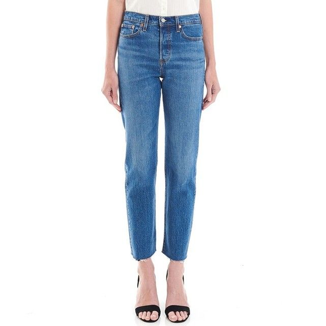 Jean droit WEDGIE STRAIGHT | Jeans fit, Mom jeans, Jeans style