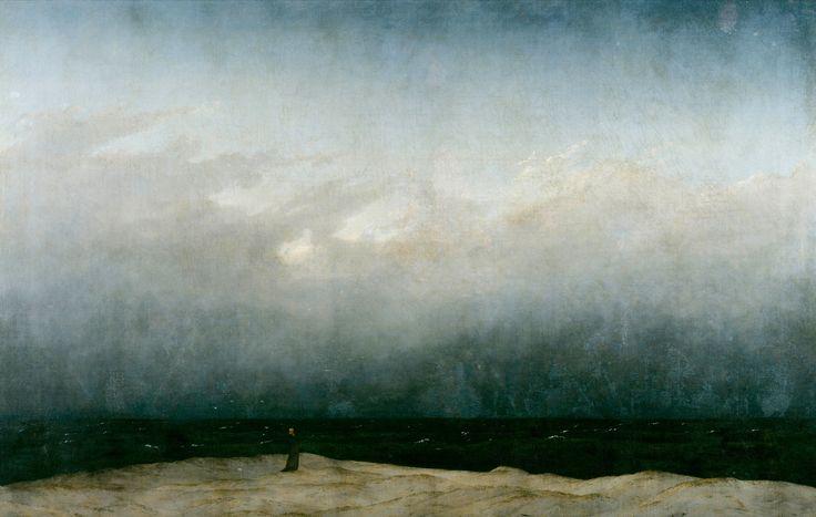 Каспар Давид Фридрих - Монах у моря 1808-1810
