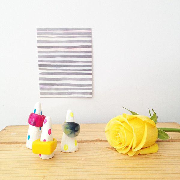 DIY Clay Ring Holders – Taylor + cloth handmade textiles + homewares
