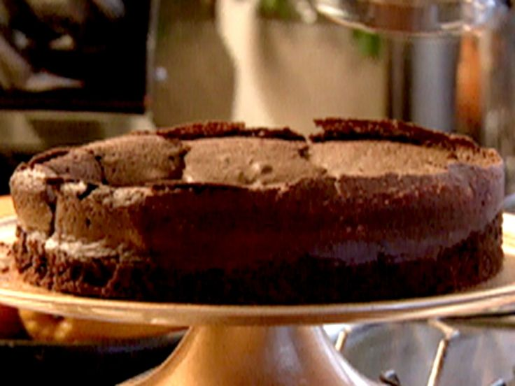 Get this all-star, easy-to-follow Chocolate Cloud Cake recipe from Nigella Lawson.  I'm planning to substitute erythritol for the sugar.