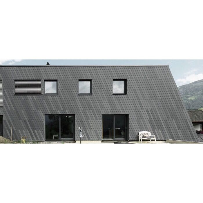 Private Residence Landeck.    FibreC öko skin - Slat wall panels  #fibrec #profasad #профасад #фибробетон