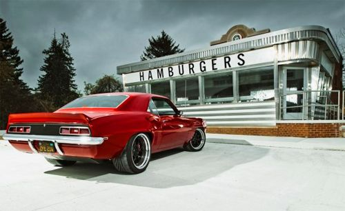 Coolest car, best parking spot: Red Devil, 1969 Chevrolet, Chevrolet Camaro, Muscle Cars, Camaro S, 69 Camaro, American Muscle