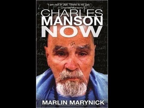 "Charles Manson with author Marlin Marynick ""Charles Manson Now"""