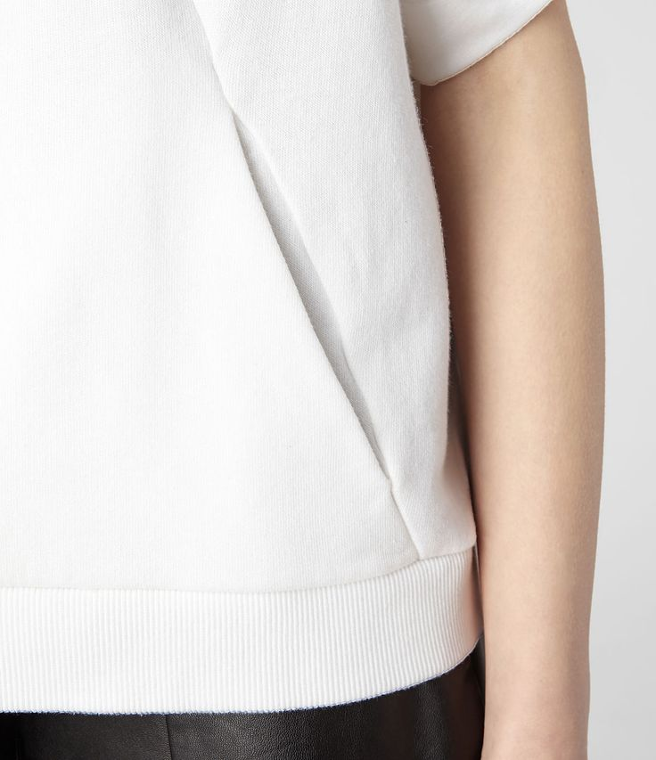 Seam Pocket - minimalist fashion design detail; sewing ideas // All Saints