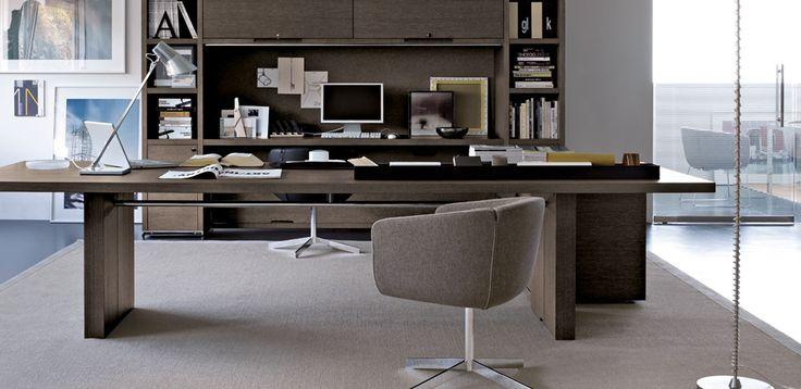 Design Office Furniture AC Executive by B&B Italia, Design Antonio Citterio