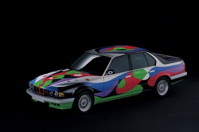 1990 BMW 730i Cesar Manrique Art Car Boldride.com - Pictures, Wallpapers