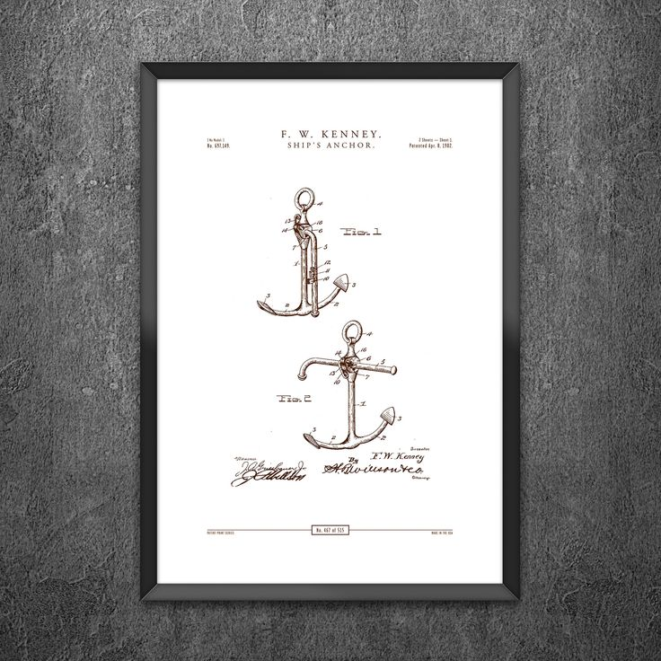 No 467 - Ships Anchor