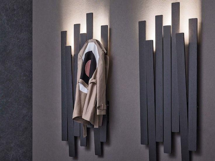 Appendiabiti a parete SKI by Natevo design Pinuccio Borgonovo