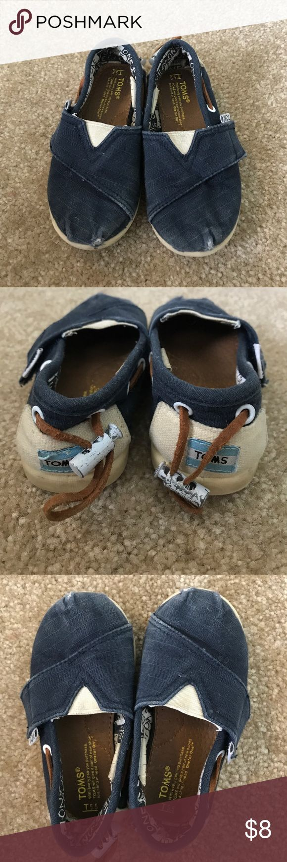 Kids TOMS Play condition! But still some good use left in them Toms Shoes Dress Shoes