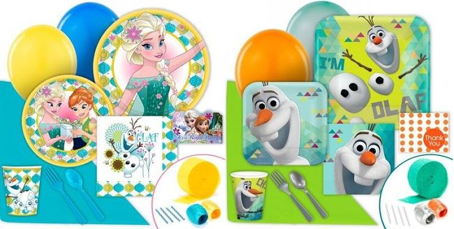 New Frozen Fever & Olaf Party Supplies | Closet of Free Samples | Get FREE Samples by Mail | Free Stuff