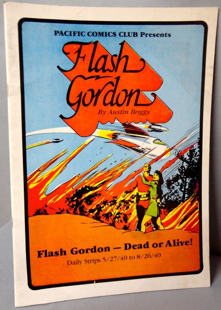 FLASH GORDON #1 Dead or Alive Austin Briggs large size B & W reprints 5/27/40-8/26/40 Pacific Club 1981 Limited Edition