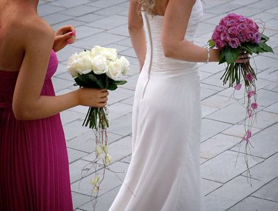 Wedding flowers in Tuscany Italy