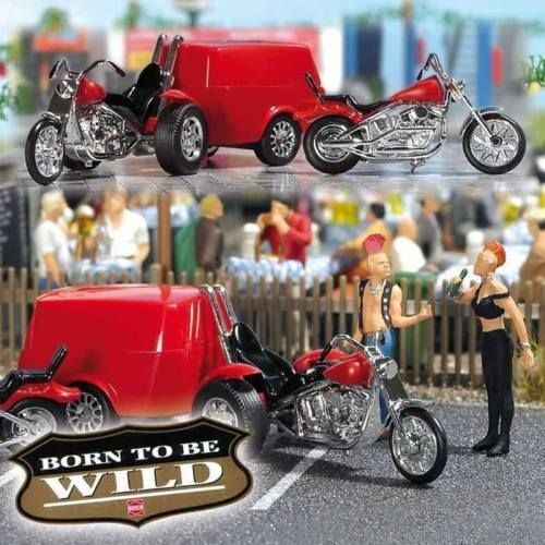 Miniaturas motos escala 1 87 H0 1