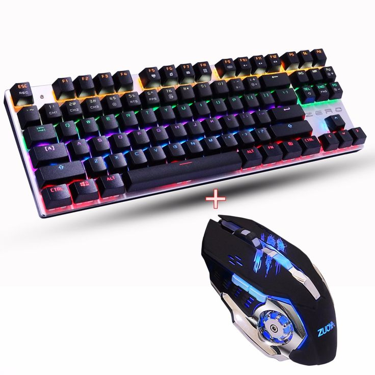 LED Backlit red/blue/black switch Gaming Mechanical Keyboard Macro programming Mouse combo set 3200DPI gaming Russia stickers -- Shop now for Xmas. Find similar beautiful pieces on  AliExpress.com. Just click the image. #christmasgiftsdiy