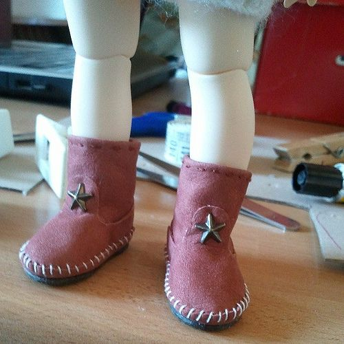 #Indianini #boots #Littlefee #yosd #bjd #instadoll